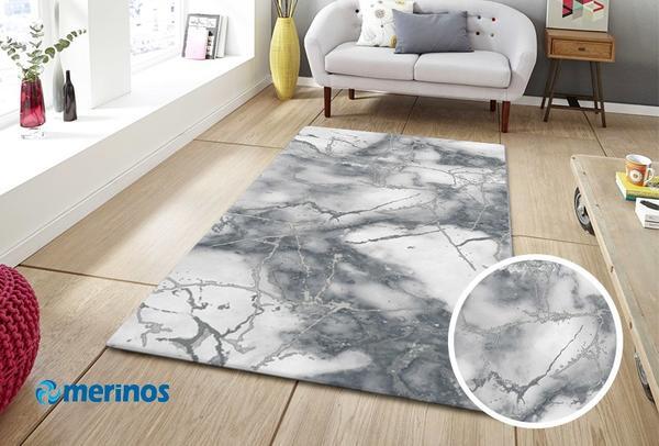 Merinos Craft Modern 3D Halı | Gri | 23270-295-Grey