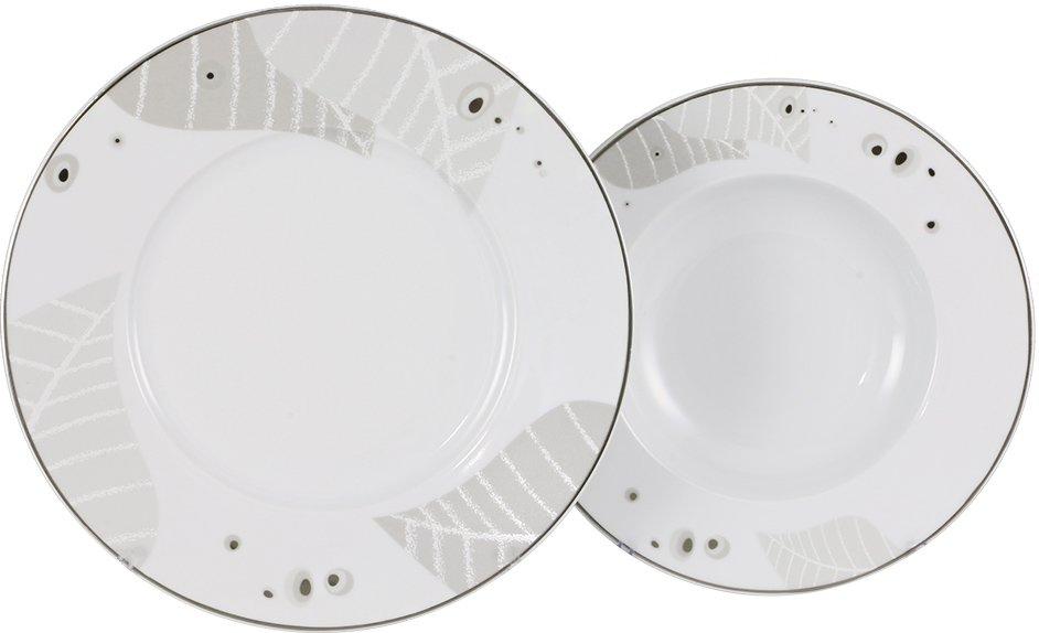 k tahya porzellan iris 85 teilig tafelservice tellerset essservice tafelset wei. Black Bedroom Furniture Sets. Home Design Ideas