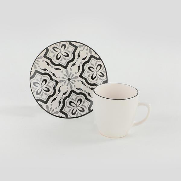 Reflect Kahve Takımı 12 Parça 6 Kişilik - 19304 | Keramika