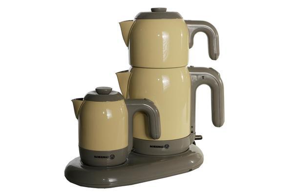 Korkmaz Mia Çay ve Kahve Makinesi - Sarı
