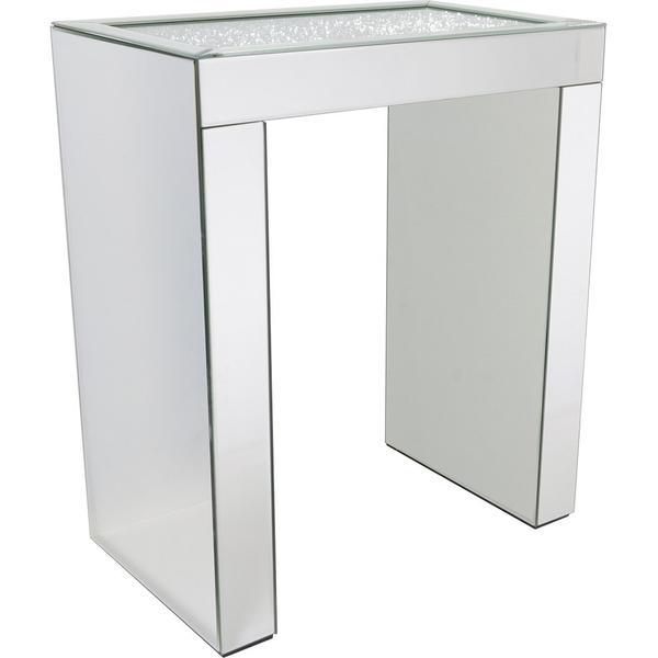 Glore Glassware Sehpa Lüks Aynalı Kristal Dekor Gd-1b69