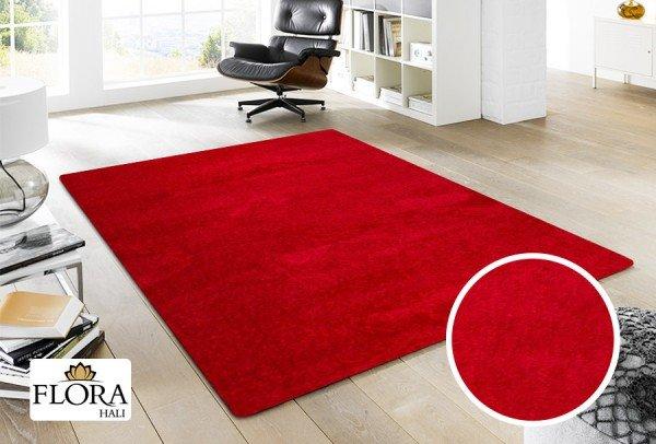 Flora Berlin Tinted Halı   Kırmızı   5330A-Red