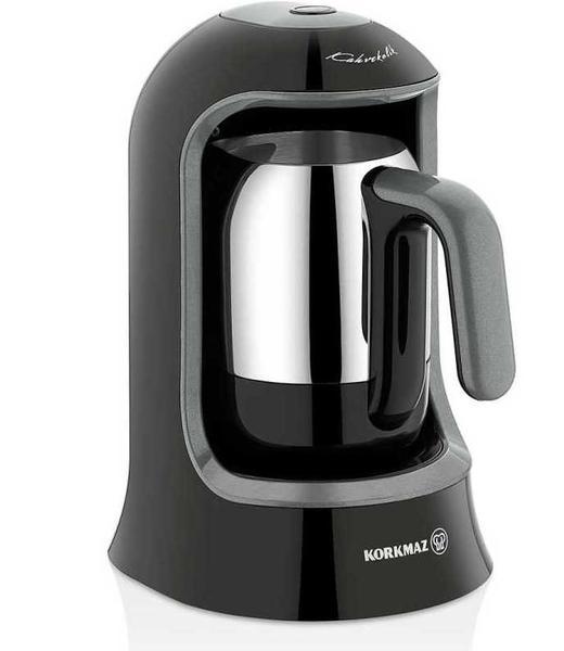 Korkmaz Kahvekolik Otomatik Kahve Makinesi | Siyah | A860-05