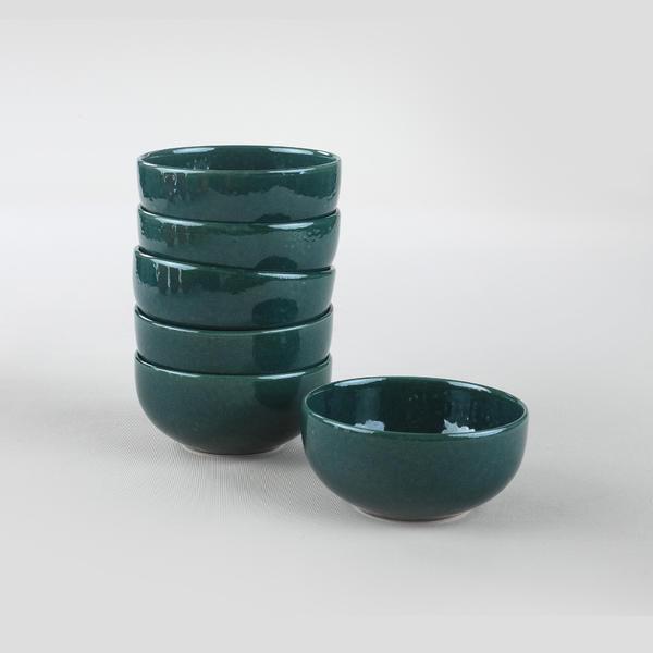 Luster Mavi Bulut Çorba Kasesi 12 Cm 6 Adet | Keramika
