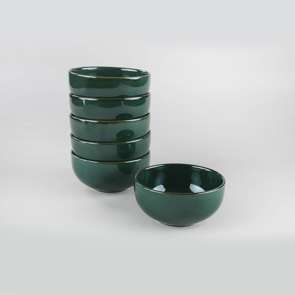 Zümrüt Bulut Çorba Kasesi 12 Cm 6 Adet | Keramika