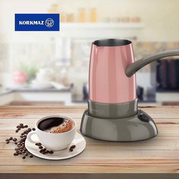 Korkmaz Smart Elektrikli Kahve Makinesi - Pembe
