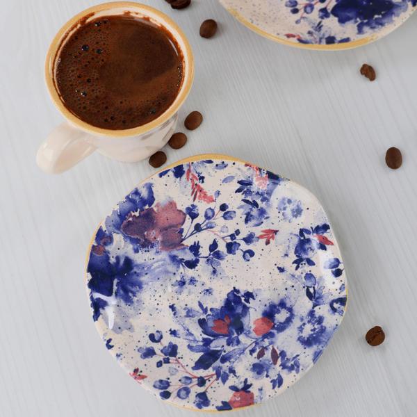Mimoza Red Organik Kahve Takımı   Keramika