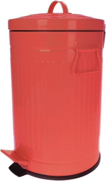 Schäfer Metal Pedallı Çöp Kovası 3 Litre | Kırmızı | 71142-1