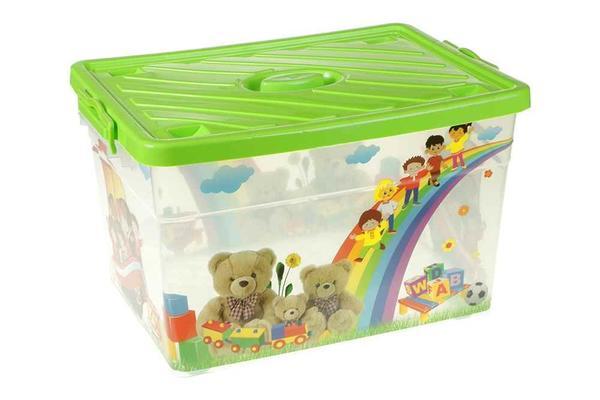 Violet 55 Litre Çocuk Odası Saklama Kutusu | 0650-Gruen