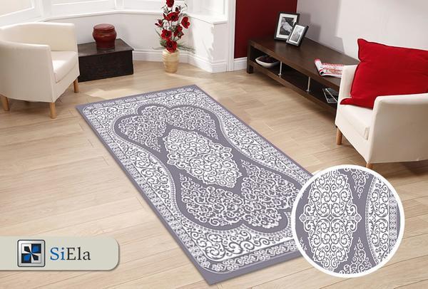 Siela Asıl Collection Çökme Halı | Gri | S-54331-Grey