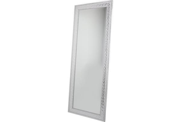 Dekonaz XL Boydan Dekoratif Duvar Aynası | 53x146cm | Gümüş Beyaz