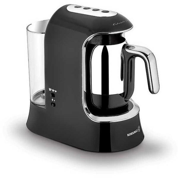 Korkmaz Kahvekolik Aqua Kahve Makinası | Siyah | A862-01