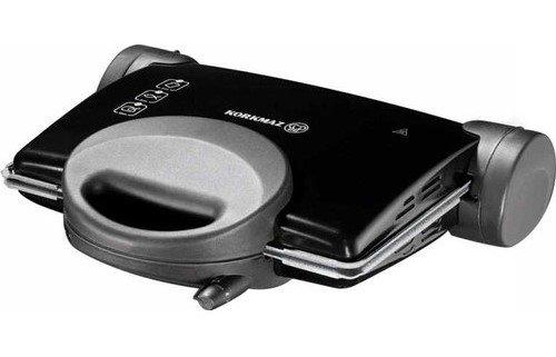 Korkmaz Tostez Maxi Granit Tost Makinesi | Siyah | A308-01