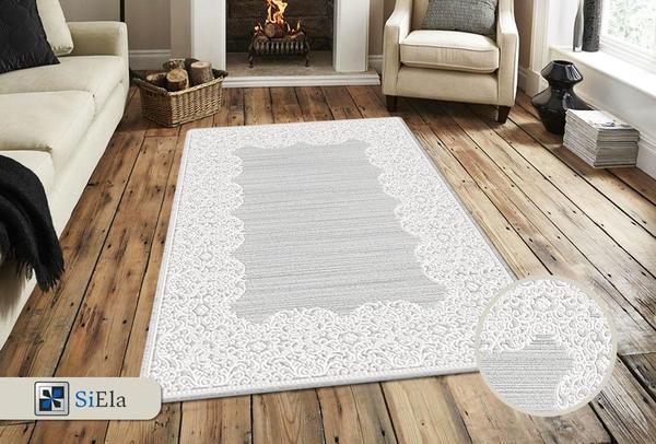 Siela Belis Collection Halı | Grey | S-7121-Grey