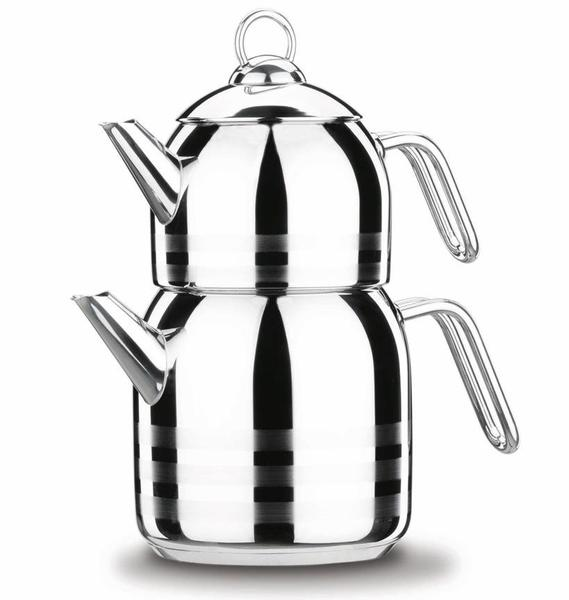Korkmaz Astra Çaydanlık Paslanmaz Çelik 2.9 Litre   İndüksiyon   A098