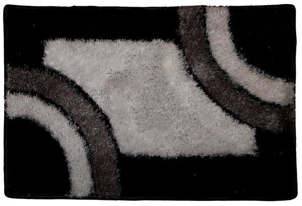 Duygu Siyah Yüksek Glamour Banyo odası için set 3 Adet