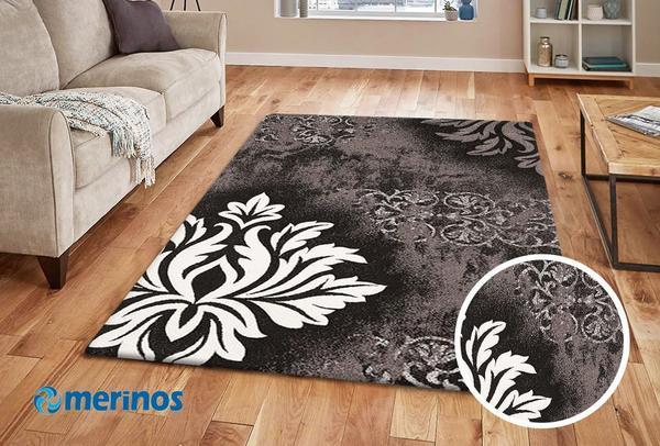 Merinos Brilliance Halı Klasik Desenli | Gri | 657-950-Grey