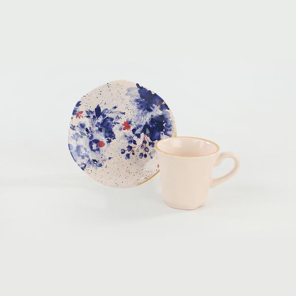 Mimoza Organik Kahve Takımı | Keramika