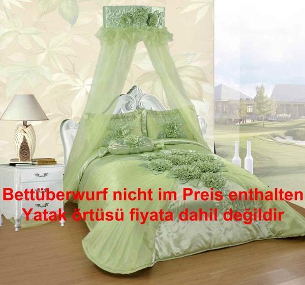 Dematex Yatak Cibinlik - Yatak Perdesi Hülya Yeşil