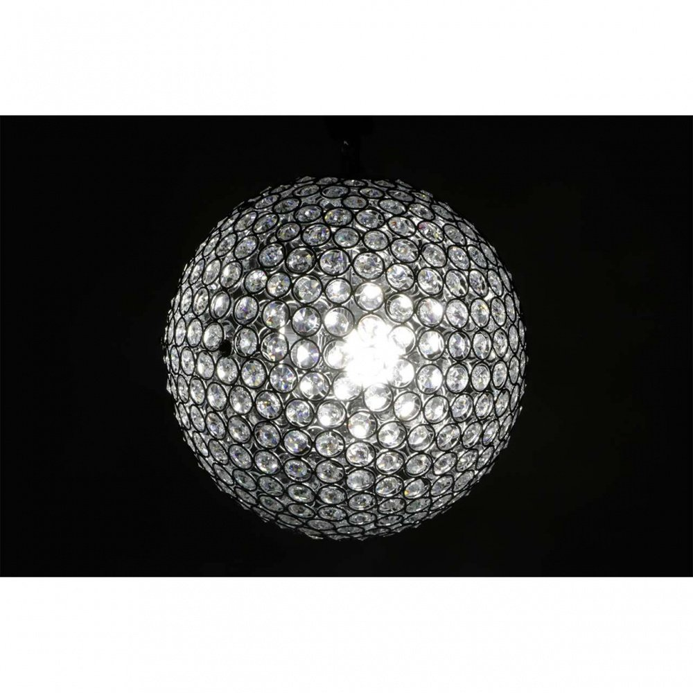 luxus kristall deckenleuchte led kugel rund handgefertigt. Black Bedroom Furniture Sets. Home Design Ideas